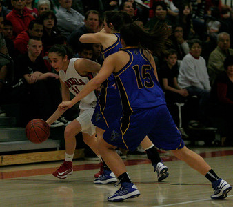 Megan Salinas (11), Katelyn Lopez (15); Lindsay 63 Exeter 48; Febeuary 26, 2013