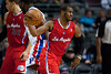 Dec 17, 2012; Auburn Hills, MI, USA; Los Angeles Clippers point guard Chris Paul (3) during the third quarter against the Detroit Pistons at The Palace. Clippers won 88-76. Mandatory Credit: Tim Fuller-USA TODAY Sports