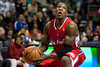 Dec 17, 2012; Auburn Hills, MI, USA; Los Angeles Clippers point guard Eric Bledsoe (12) drives to the basket against the Detroit Pistons during the second quarter at The Palace. Mandatory Credit: Tim Fuller-USA TODAY Sports