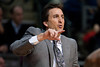 Dec 17, 2012; Auburn Hills, MI, USA; Los Angeles Clippers head coach Vinny Del Negro during the third quarter against the Detroit Pistons at The Palace. Clippers won 88-76. Mandatory Credit: Tim Fuller-USA TODAY Sports