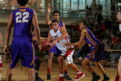 Loughlin vs LI Lutheran Boys Basketball | Empire Invitational. Photos by Chris Bergmann
