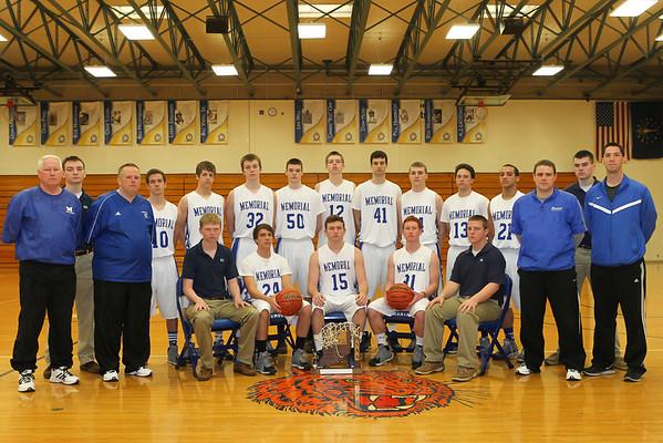 MHS Boys Sectional Basketball Champions 2013-14
