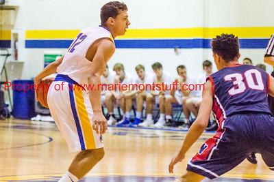 MHS Mens Basketball vs Norwood 2018-1-6-18