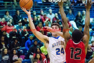Mariemont High School Mens Basketball vs Deer Park 2018-1-23-2