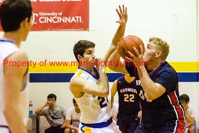 MHS Mens Basketball vs Norwood 2018-1-6-5