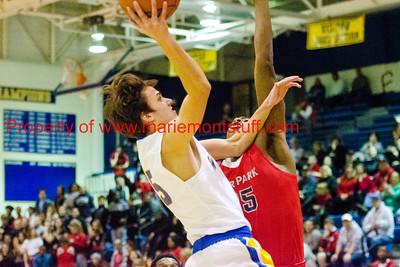 Mariemont High School Mens Basketball vs Deer Park 2018-1-23-14