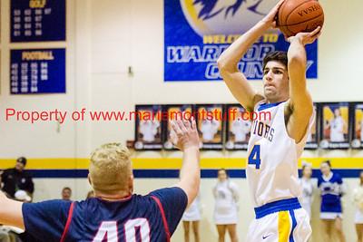 MHS Mens Basketball vs Norwood 2018-1-6-7