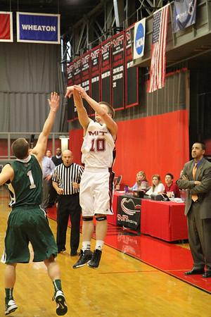 MIT-Babson Men's Basketball Jan. 12, 2013