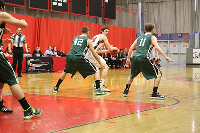 MIT-Babson Men's Basketball Feb. 22, 2014