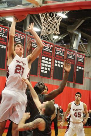MIT-Rhode Island College men's basketball Nov. 30, 2013