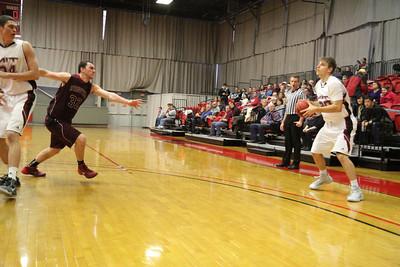 MIT-Springfield Men's Basketball Jan. 18, 2014