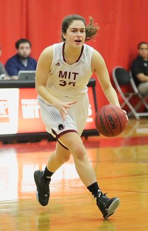 MIT-Springfield Women's Basketball Jan. 16, 2016