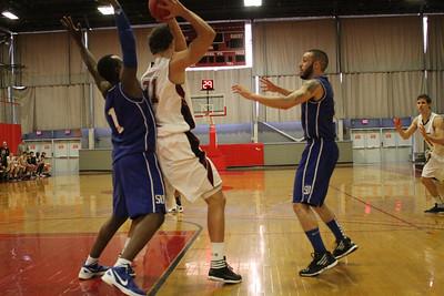 MIT-Suffolk Men's Basketball November 26, 2011
