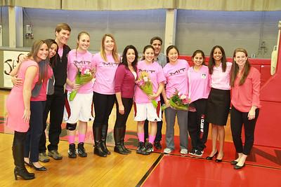 MIT-WPI Women's Basketball Feb. 22, 2014