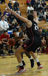Jalen McFerren as Chico State plays Academy of Art during the 57th annual Mac Martin Classic basketball tournament Friday, nov. 25, 2016, at Acker Gym in Chico, California. (Dan Reidel -- Enterprise-Record)