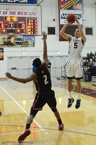 Robert Duncan as Chico State plays Academy of Art during the 57th annual Mac Martin Classic basketball tournament Friday, nov. 25, 2016, at Acker Gym in Chico, California. (Dan Reidel -- Enterprise-Record)