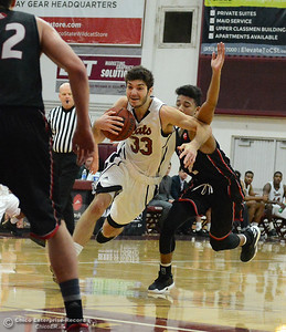 Corey Silverstrom as Chico State plays Academy of Art during the 57th annual Mac Martin Classic basketball tournament Friday, nov. 25, 2016, at Acker Gym in Chico, California. (Dan Reidel -- Enterprise-Record)