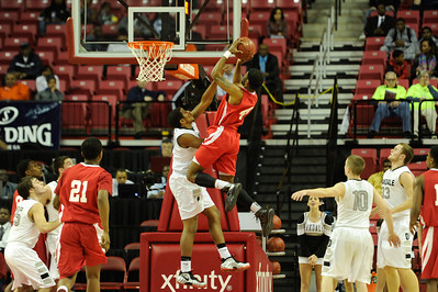 MD Prep Basketball 2013: Edmonson Red Storm vs Oakdale Bears  MAR 15