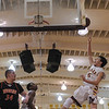 Menlo-Atherton High Varsity Boy's Basketball vs.Woodside High, 2014-01-24