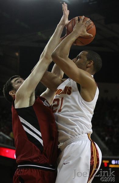 Men's Basketball vs. Stanford 2008