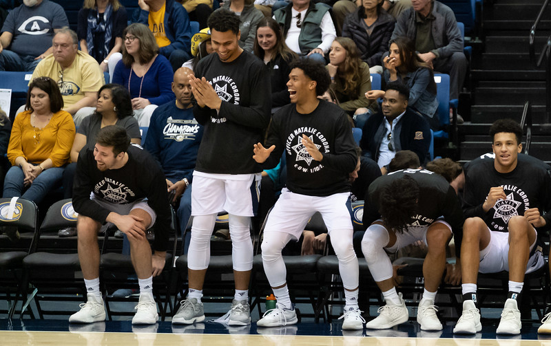 The bench has something to cheer