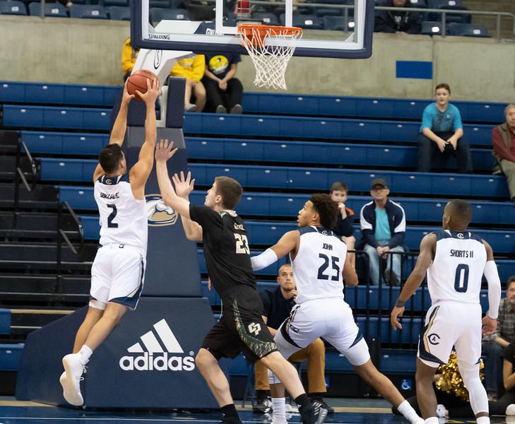 Gonzalez snarfs a rebound