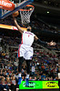 Dec 30, 2012; Auburn Hills, MI, USA; Detroit Pistons center Andre Drummond (1) slam dunks during the fourth quarter against the Milwaukee Bucks at The Palace. Pistons won 96-94. Mandatory Credit: Tim Fuller-USA TODAY Sports