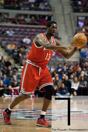 Dec 30, 2012; Auburn Hills, MI, USA; Milwaukee Bucks power forward Ekpe Udoh (13) during the first quarter against the Detroit Pistons at The Palace. Mandatory Credit: Tim Fuller-USA TODAY Sports