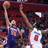 NBA: Phoenix Suns at Detroit Pistons