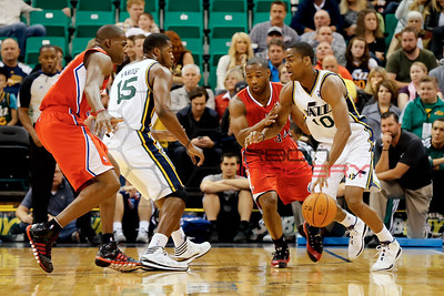 NBA: Preseason-Los Angeles Clippers at Utah Jazz