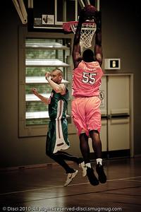 Alternate Processing - Pre-Season NBL International Basketball: Gold Coast Blaze v Anyang KT & G Kites - Korea; Logan City, Queensland, Australia; 2010. (Lightroom Preset: Matt's Edgy Look - Hard Edge.)