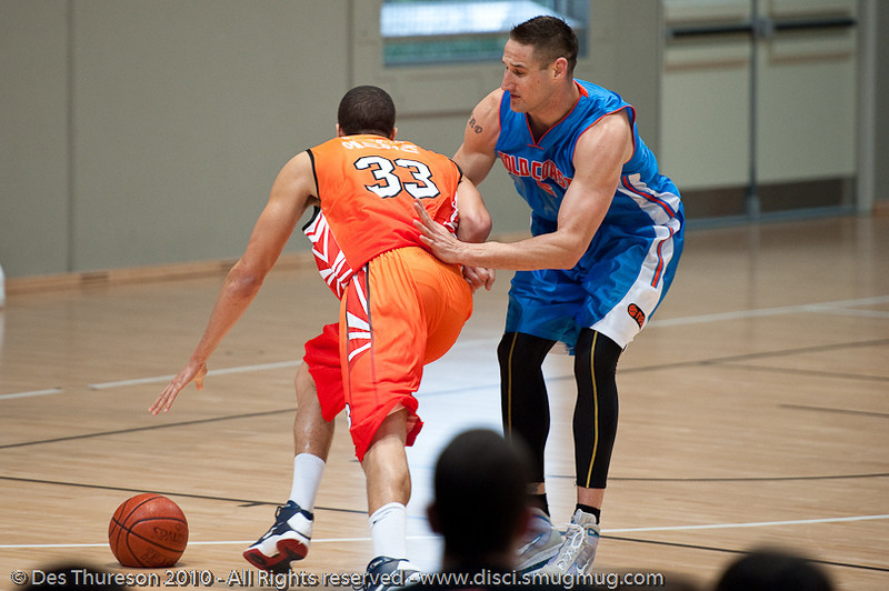 Pero Vasiljevic would not have used the hand-check if he'd known the ball was flat - Pre-Season NBL International Basketball: Gold Coast Blaze v Anyang KT & G Kites - Korea; Logan City, Queensland, Australia; 2010.