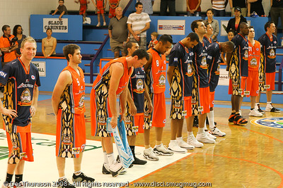 Cairns Taipans - Cairns NBL pre-season basketball tournament; Tropical North Queensland, Australia; August 2008.