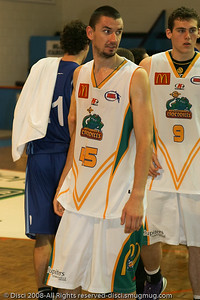 Russell Hinder - Cairns NBL pre-season basketball tournament; Tropical North Queensland, Australia; August 2008.