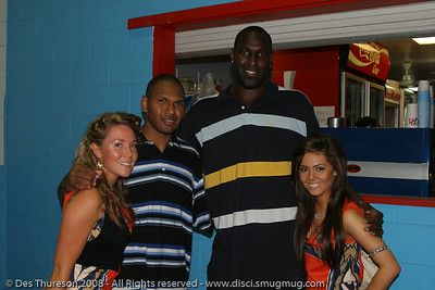 Nathan Jawai - Cairns NBL pre-season basketball tournament; Tropical North Queensland, Australia; August 2008.