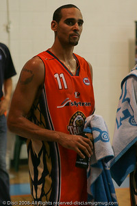 "Canadian Olympian Dave Thomas (""DT"") - Cairns NBL pre-season basketball tournament; Tropical North Queensland, Australia; August 2008."