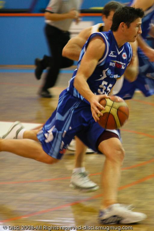 Damian Martin - Cairns NBL pre-season basketball tournament; Tropical North Queensland, Australia; August 2008.