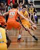 "Jason Cadee, Alex Loughton - Cairns Taipans v Sydney Kings - 2014 NBL Blitz Basketball, NAB Stadium, Auchenflower, Brisbane, Qld, AUS. Day 3, Camera 1. Photos by Des Thureson - <a href=""http://disci.smugmug.com"">http://disci.smugmug.com</a>."