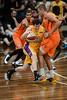 "Ben Madgen, Mitchell Young - Cairns Taipans v Sydney Kings - 2014 NBL Blitz Basketball, NAB Stadium, Auchenflower, Brisbane, Qld, AUS. Day 3, Camera 1. Photos by Des Thureson - <a href=""http://disci.smugmug.com"">http://disci.smugmug.com</a>."