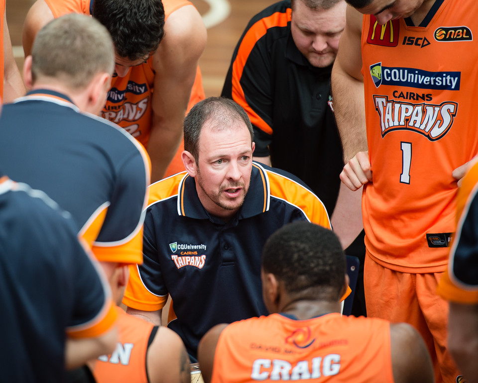 "Aaron Fearne - Cairns Taipans v Sydney Kings - 2014 NBL Blitz Basketball, NAB Stadium, Auchenflower, Brisbane, Qld, AUS. Day 3, Camera 1. Photos by Des Thureson - <a href=""http://disci.smugmug.com"">http://disci.smugmug.com</a>."