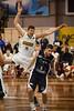 "Brian Conklin, Nate Tomlinson - Melbourne United v Townsville Crocs - 2014 NBL Blitz Basketball, NAB Stadium, Auchenflower, Brisbane, Qld, AUS. Day 1. Photos by Des Thureson - <a href=""http://disci.smugmug.com"">http://disci.smugmug.com</a>."