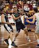 "Nate Tomlinson - Melbourne United v Townsville Crocs - 2014 NBL Blitz Basketball, NAB Stadium, Auchenflower, Brisbane, Qld, AUS. Day 1. Photos by Des Thureson - <a href=""http://disci.smugmug.com"">http://disci.smugmug.com</a>."