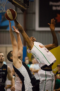 Mickell Gladness - Melbourne United v Townsville Crocs - 2014 NBL Blitz Basketball, NAB Stadium, Auchenflower, Brisbane, Qld, AUS. Day 1. Photos by Des Thureson - http://disci.smugmug.com.
