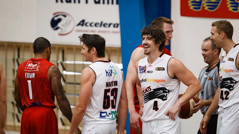 "Greg Hire - Perth Wildcats v Wollongong Hawks - 2014 NBL Blitz Basketball, NAB Stadium, Auchenflower, Brisbane, Qld, AUS. Day 3, Camera 2. Photos by Des Thureson - <a href=""http://disci.smugmug.com"">http://disci.smugmug.com</a>."