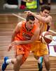 "Corey Maynard, Daniel Joyce - Cairns Taipans v Sydney Kings - 2014 NBL Blitz Basketball, NAB Stadium, Auchenflower, Brisbane, Qld, AUS. Day 3, Camera 1. Photos by Des Thureson - <a href=""http://disci.smugmug.com"">http://disci.smugmug.com</a>."