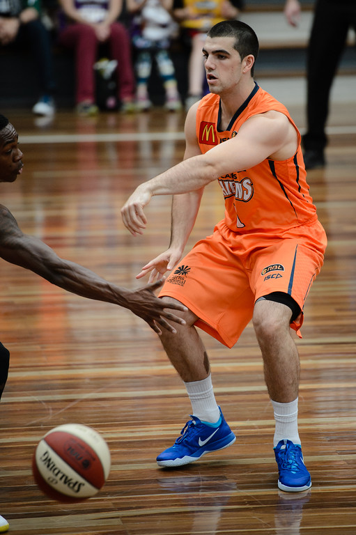 "Cory Maynard - Cairns Taipans v Sydney Kings - 2014 NBL Blitz Basketball, NAB Stadium, Auchenflower, Brisbane, Qld, AUS. Day 3, Camera 1. Photos by Des Thureson - <a href=""http://disci.smugmug.com"">http://disci.smugmug.com</a>."