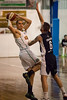 "Mirko Djeric, Nate Tomlinson - Melbourne United v Townsville Crocs - 2014 NBL Blitz Basketball, NAB Stadium, Auchenflower, Brisbane, Qld, AUS. Day 1. Photos by Des Thureson - <a href=""http://disci.smugmug.com"">http://disci.smugmug.com</a>."