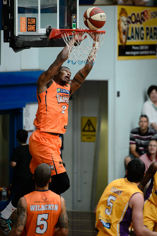 "Torrey Craig - Cairns Taipans v Sydney Kings - 2014 NBL Blitz Basketball, NAB Stadium, Auchenflower, Brisbane, Qld, AUS. Day 3, Camera 1. Photos by Des Thureson - <a href=""http://disci.smugmug.com"">http://disci.smugmug.com</a>."