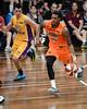 """Torrey Craig - Cairns Taipans v Sydney Kings - 2014 NBL Blitz Basketball, NAB Stadium, Auchenflower, Brisbane, Qld, AUS. Day 3, Camera 1. Photos by Des Thureson - <a href=""""http://disci.smugmug.com"""">http://disci.smugmug.com</a>."""