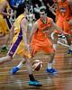 "Jason Cadee, Cory Maynard - Cairns Taipans v Sydney Kings - 2014 NBL Blitz Basketball, NAB Stadium, Auchenflower, Brisbane, Qld, AUS. Day 3, Camera 1. Photos by Des Thureson - <a href=""http://disci.smugmug.com"">http://disci.smugmug.com</a>."